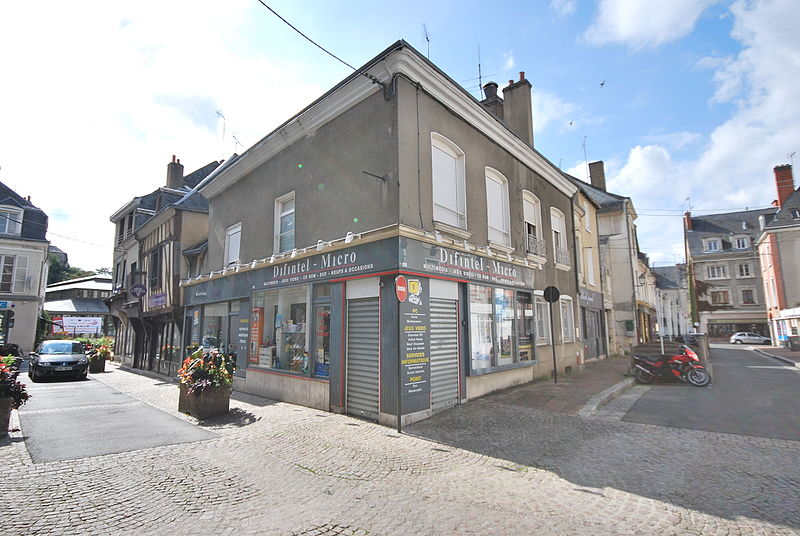 Photo du Monument Historique Immeuble situé à Vendôme