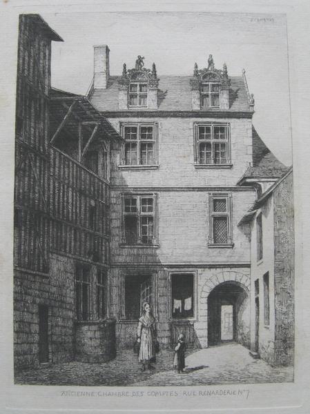 Photo du Monument Historique Maison dite Hôtel de la Chambre des Comptes situé à Vendôme
