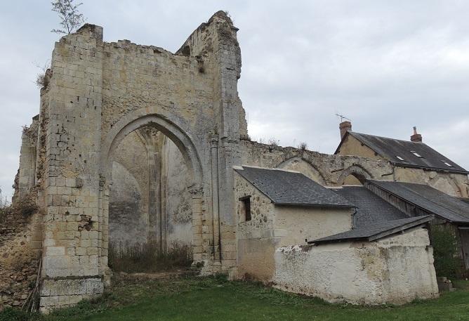Photo du Monument Historique Prieuré Saint-Jean-Baptiste situé à Villedieu-le-Château