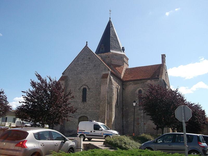 Photo du Monument Historique Eglise Sainte-Marie-Madeleine situé à Villefranche-sur-Cher