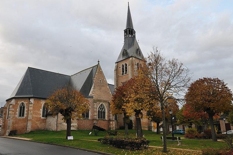 Photo du Monument Historique Eglise paroissiale Saint-Etienne situé à Chaumont-sur-Tharonne