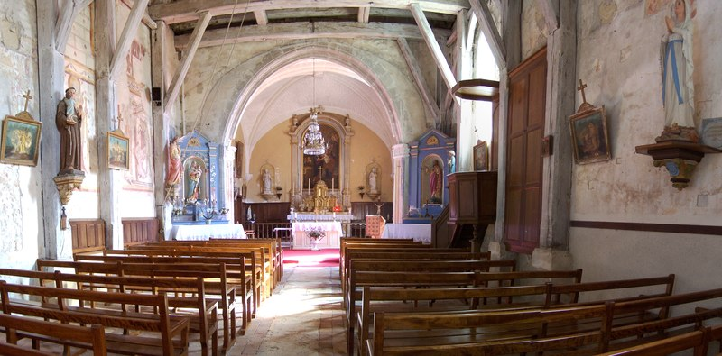 Photo du Monument Historique Eglise Saint-Christophe situé à Couddes