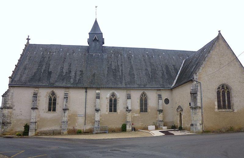 Photo du Monument Historique Eglise Saint-Hilaire situé à Villiers-sur-Loir