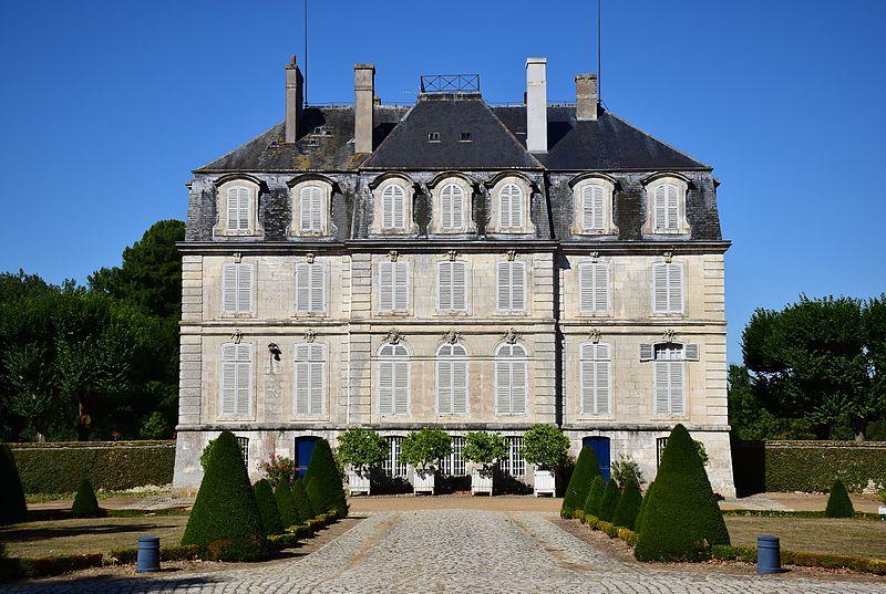 Photo du Monument Historique Château situé à Meslay