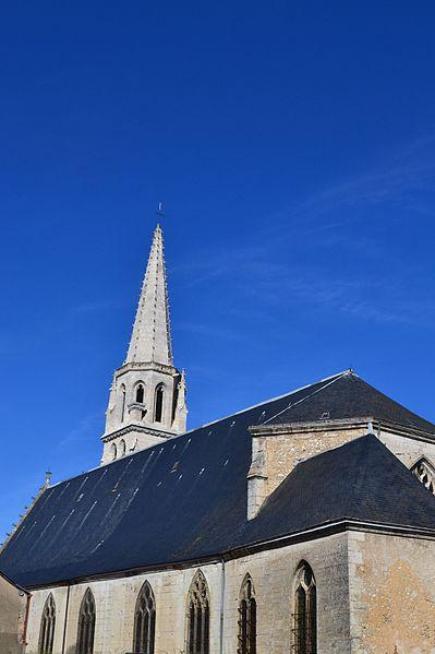 Photo du Monument Historique Eglise Sainte-Marie-Madeleine situé à Vendôme