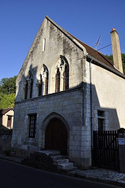 Photo du Monument Historique Maison gothique situé à Lavardin