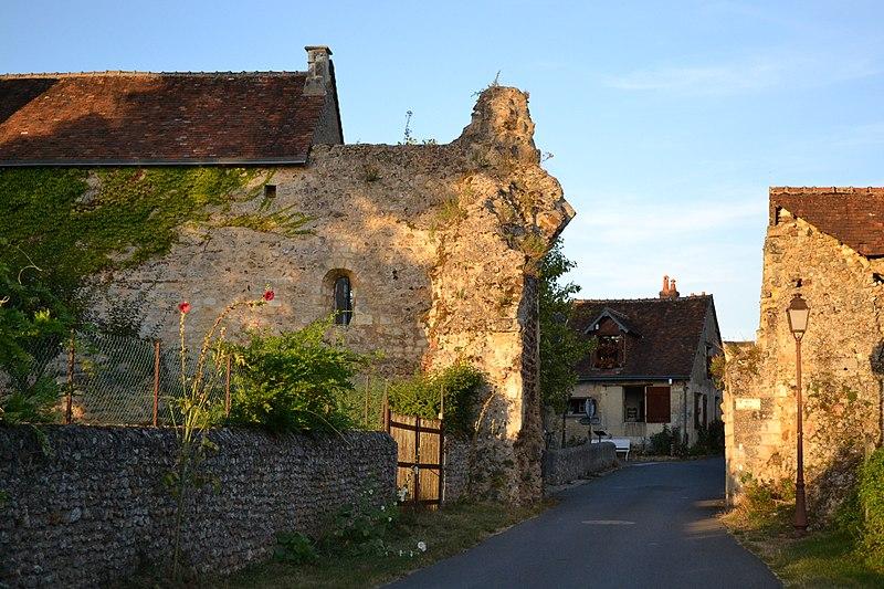 Photo du Monument Historique Système défensif de la commune de Troo situé à Troo
