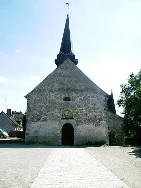 Photo du Monument Historique Eglise Saint-Martin situé à Crouy-sur-Cosson