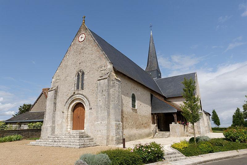 Photo du Monument Historique Eglise Notre-Dame situé à Françay