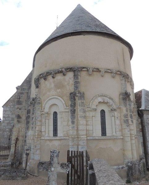 Photo du Monument Historique Eglise Notre-Dame situé à Huisseau-en-Beauce