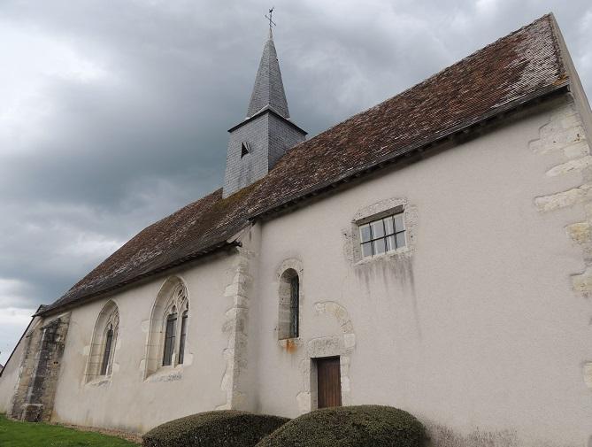 Photo du Monument Historique Eglise Saint-Pierre situé à Pray