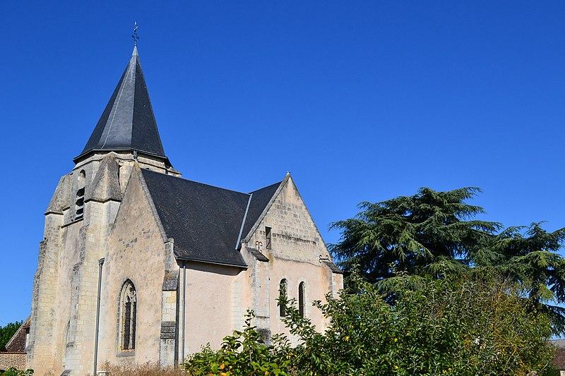 Photo du Monument Historique Eglise Saint-Martin situé à Saint-Martin-des-Bois