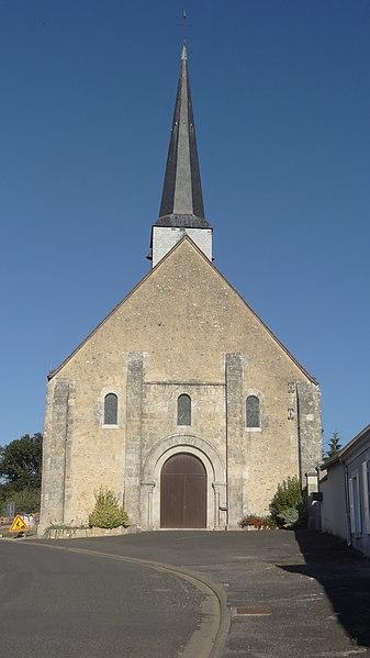 Photo du Monument Historique Eglise Saint-Pierre situé à Vievy-le-Rayé