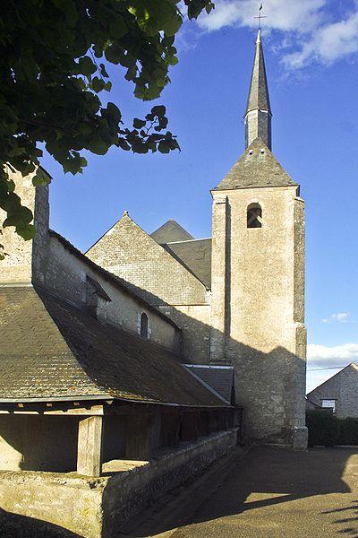 Photo du Monument Historique Église Saint-Denis situé à Villexanton