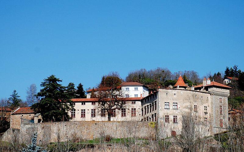 Photo du Monument Historique Château situé à Bellegarde-en-Forez