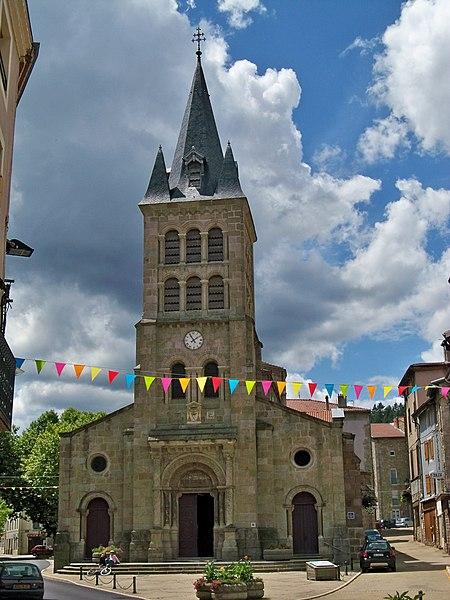 Photo du Monument Historique Eglise situé à Bourg-Argental