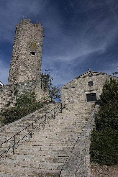 Photo du Monument Historique Tour situé à Chambles