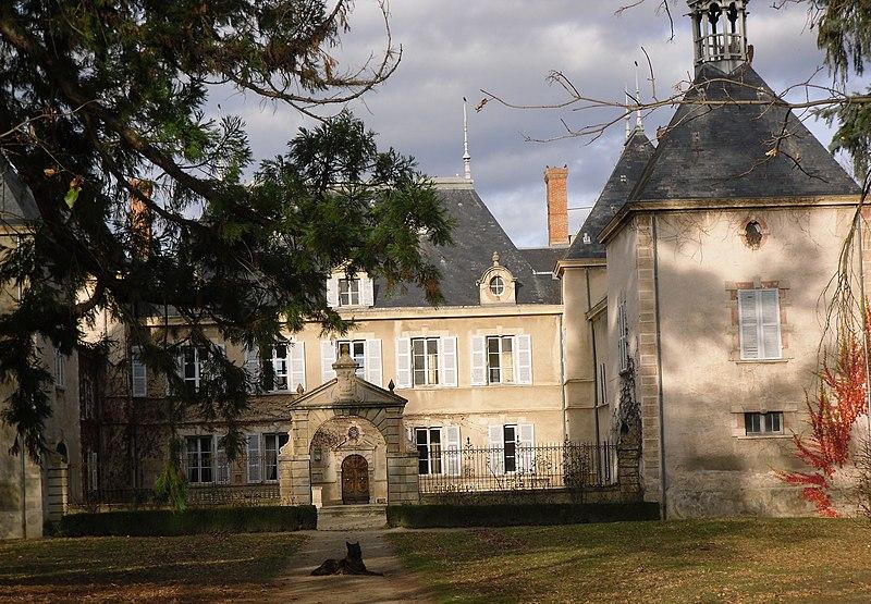 Photo du Monument Historique Château de Vaugirard situé à Champdieu