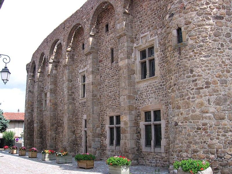 Photo du Monument Historique Prieuré situé à Champdieu
