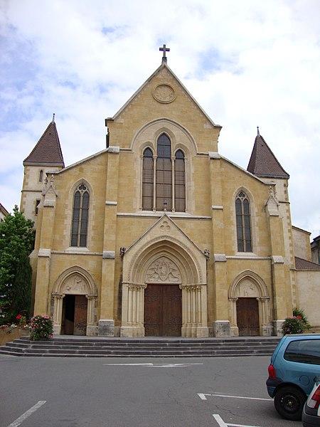 Photo du Monument Historique Eglise Saint-Philibert situé à Charlieu