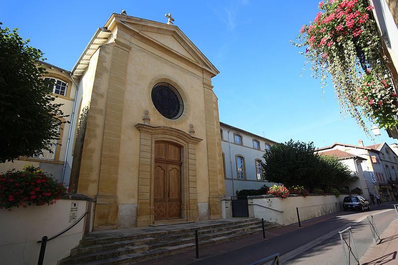 Photo du Monument Historique Hôtel-Dieu situé à Charlieu