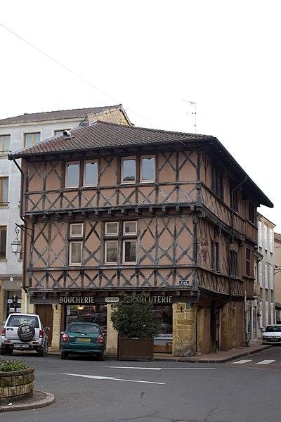 Photo du Monument Historique Maison situé à Charlieu