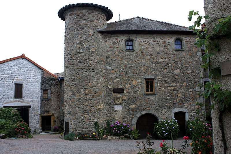 Photo du Monument Historique Maison dite de Jean Papou situé à Le Crozet