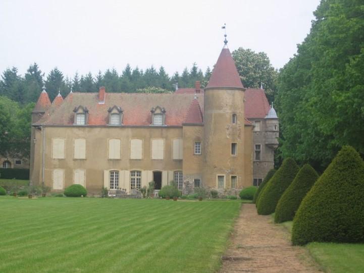 Photo du Monument Historique Château de l'Aubépin situé à Fourneaux