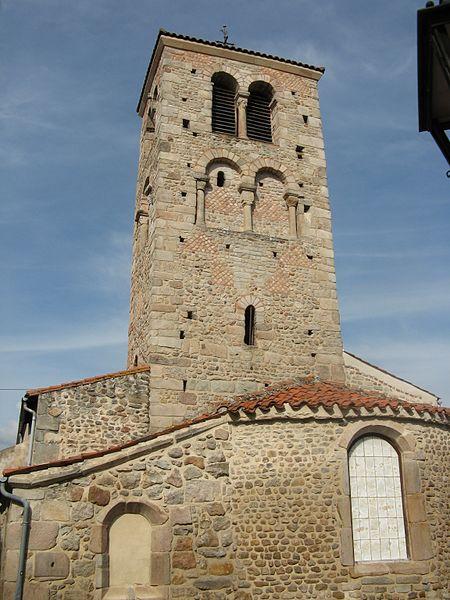 Photo du Monument Historique Eglise de Moingt situé à Montbrison