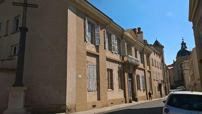 Photo du Monument Historique Hôtel de Vazelhes situé à Montbrison