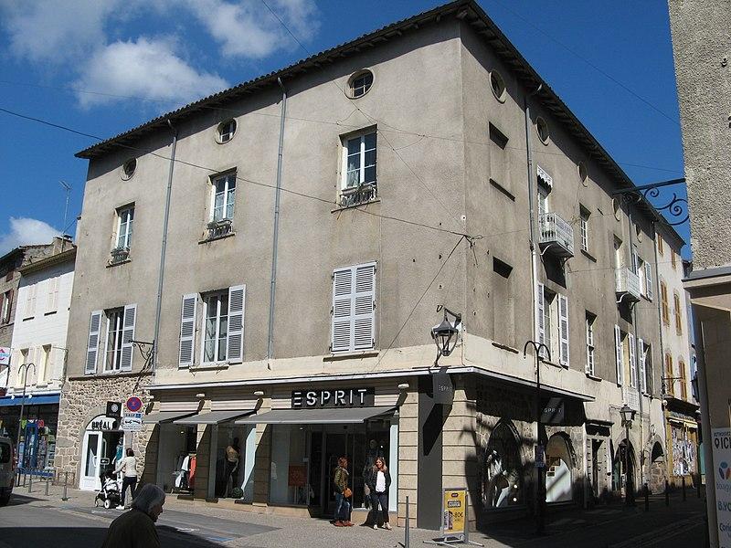 Photo du Monument Historique Maison situé à Montbrison