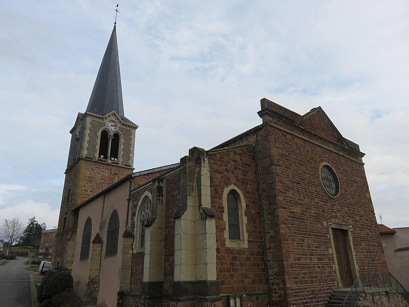 Photo du Monument Historique Eglise situé à Perreux