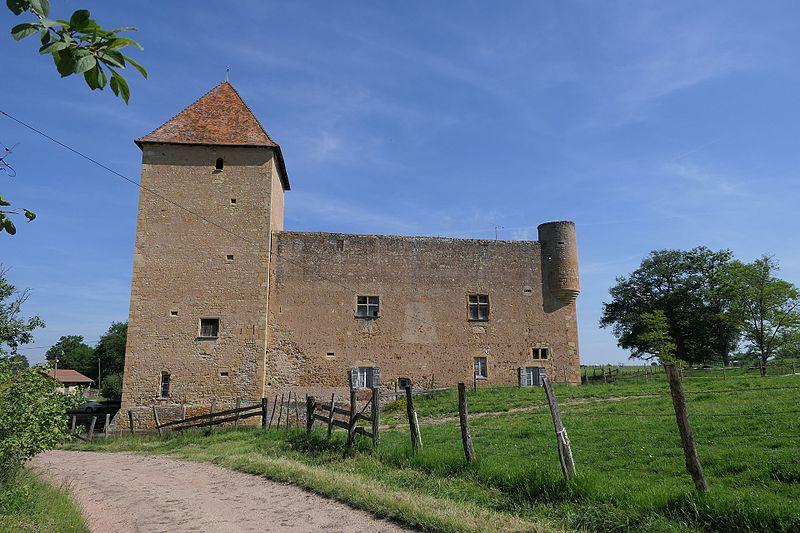 Photo du Monument Historique Château de Montrenard situé à Pouilly-sous-Charlieu
