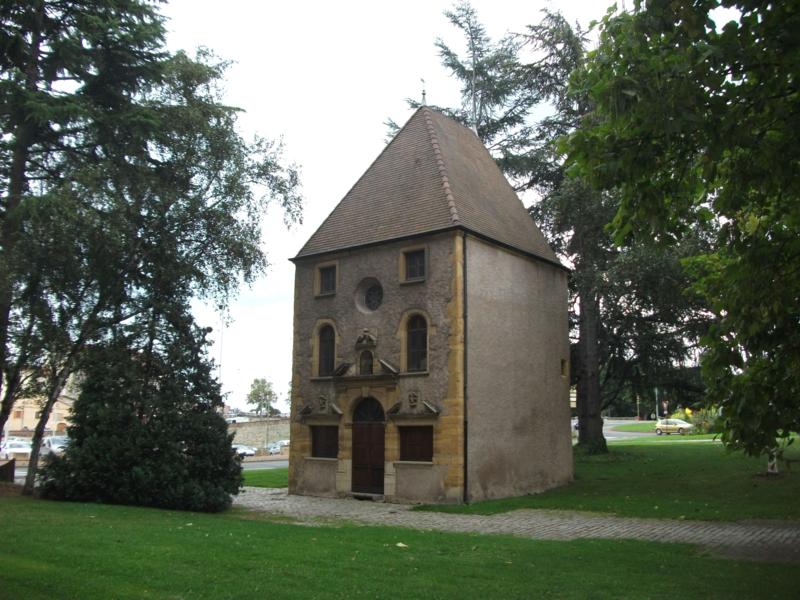 Photo du Monument Historique Chapelle Saint-Nicolas-du-Port situé à Roanne