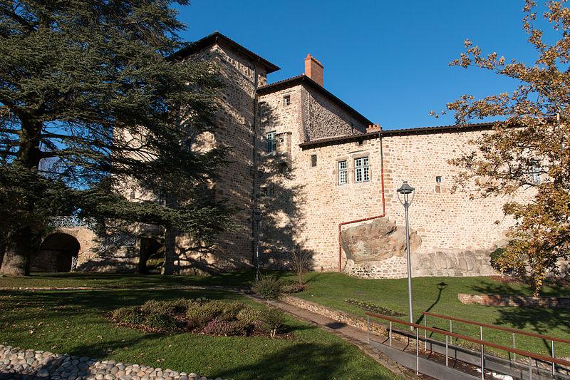 Photo du Monument Historique Château situé à Roche-la-Molière