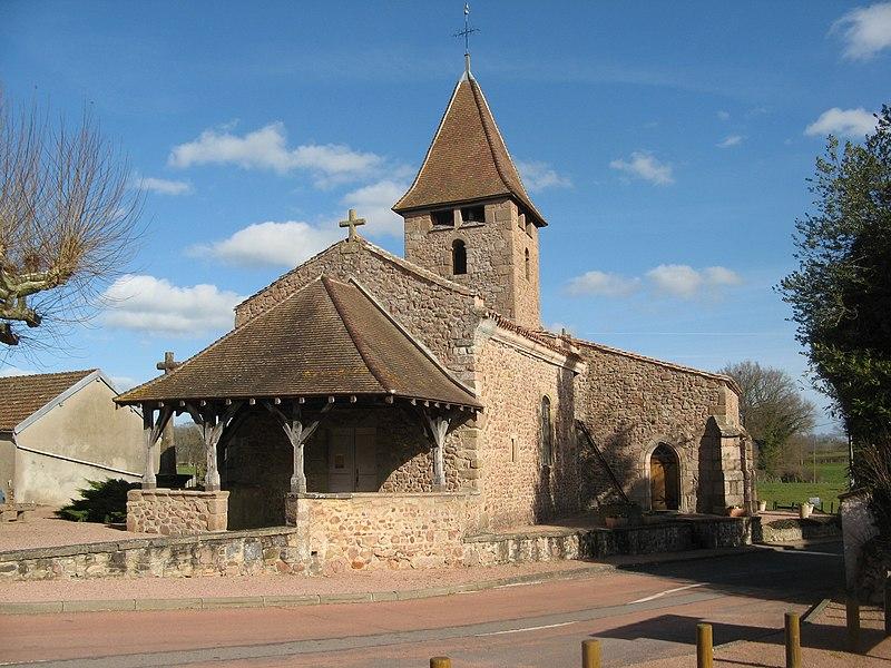 Photo du Monument Historique Eglise situé à Sail-les-Bains