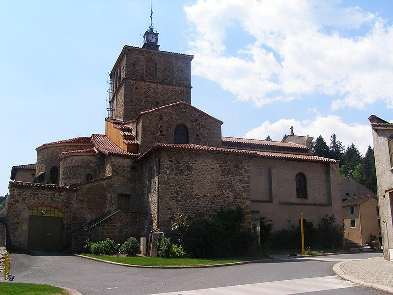 Photo du Monument Historique Eglise situé à Sail-sous-Couzan
