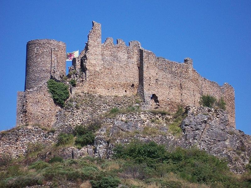 Photo du Monument Historique Château de Couzan (restes) situé à Sail-sous-Couzan