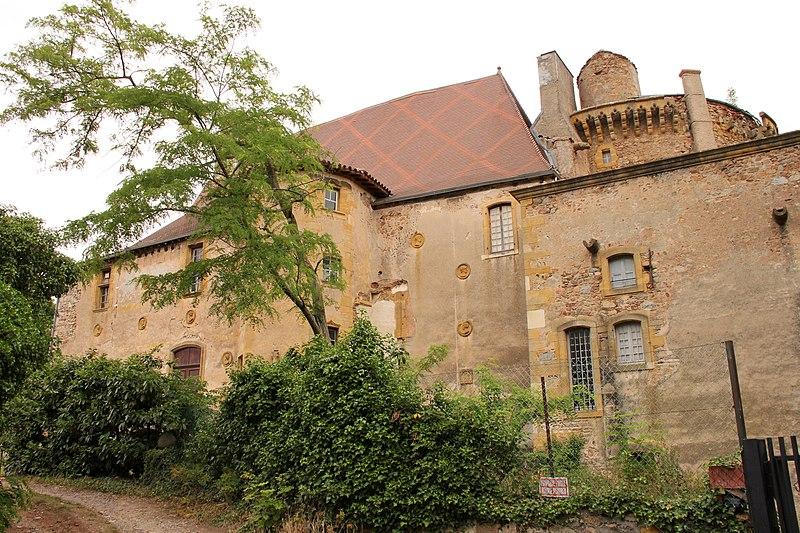 Photo du Monument Historique Château situé à Saint-André-d'Apchon