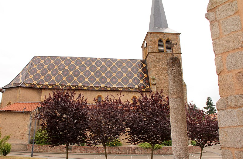 Photo du Monument Historique Eglise situé à Saint-André-d'Apchon