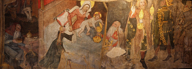 Photo du Monument Historique Eglise Saint-Bonnet situé à Saint-Bonnet-le-Château