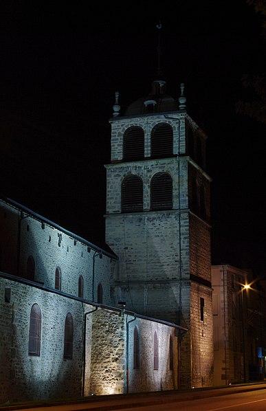 Photo du Monument Historique Eglise Saint-Pierre situé à Saint-Chamond