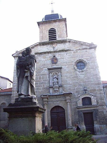 Photo du Monument Historique Chapelle de la Charité situé à Saint-Etienne