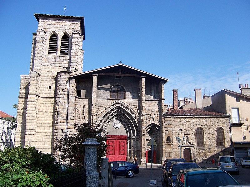 Photo du Monument Historique Grand'Eglise ou Eglise Saint-Etienne situé à Saint-Etienne