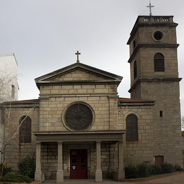 Photo du Monument Historique Eglise de Valbenoite situé à Saint-Etienne