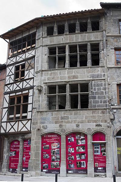 Photo du Monument Historique Maison dite de François Ier situé à Saint-Etienne