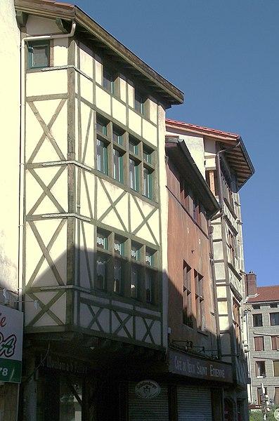 Photo du Monument Historique Maison situé à Saint-Etienne