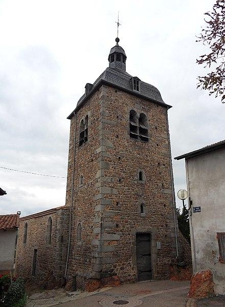 Photo du Monument Historique Chapelle de la Madeleine situé à Saint-Germain-Laval