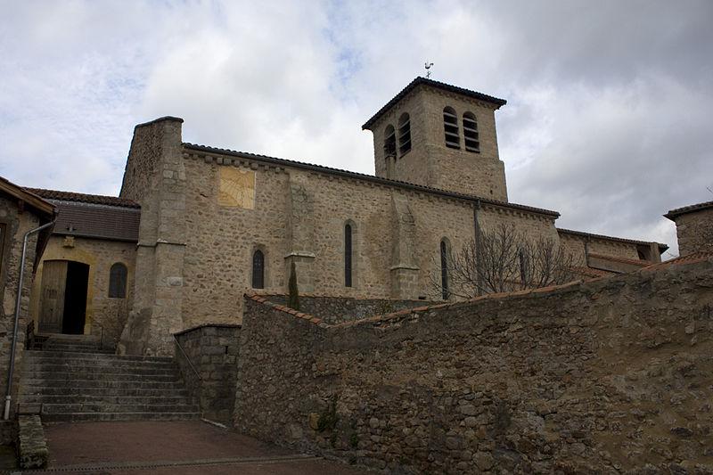 Photo du Monument Historique Eglise situé à Saint-Haon-le-Châtel