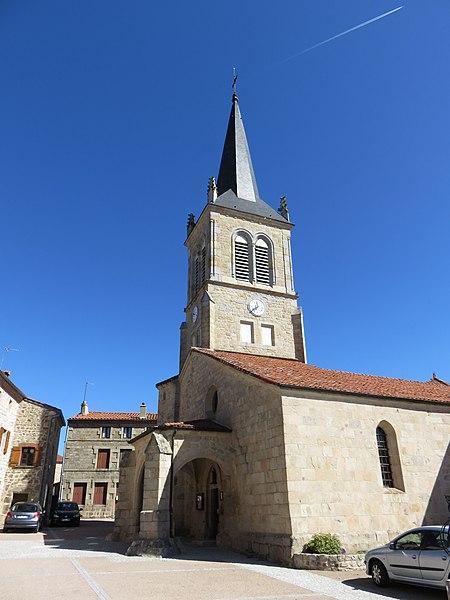 Photo du Monument Historique Eglise situé à Saint-Hilaire-Cusson-la-Valmitte